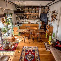 Home Room Design, Kitchen Design, House Design, Deco Addict, Art Deco Home, Interior Decorating, Interior Design, Aesthetic Rooms, House Rooms