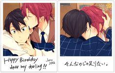 Rin Matsuoka x Haruka Nanase / Free! Rin Matsuoka, Haruka Nanase, Free Es, Film Trilogies, Swimming Anime, Splash Free, Free Eternal Summer, Free Iwatobi Swim Club, Free Anime