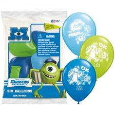 Online party supplies shop for all your party accessories and supplies including accessories and decorations of all Disney party themes and more! Monster University Party, Monsters Inc University, Monster Inc Party, Helium Balloons, Latex Balloons, Online Party Supplies, 3rd Birthday Parties, Birthday Ideas, Party Accessories