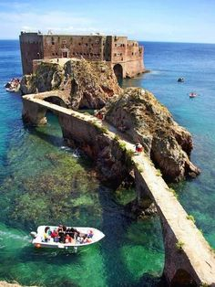 Portugal, Fort de Saint John the Baptist Berlenga Island.