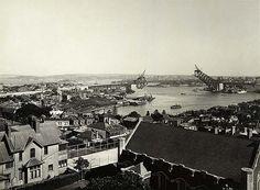 Sydney Harbour Bridge under construction   Flickr - Photo Sharing!