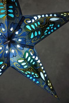 Save On Crafts Star Lanterns Blue Swan Paper Lantern Lights, Star Lanterns, Paper Lanterns, Lantern Diy, Outdoor Lantern, Christmas Lanterns, String Lights, Rustic Centerpieces, Centerpiece Decorations