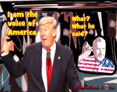Trump: Forza, sicurezza e trombe di Eustachio saranno ripristinate!