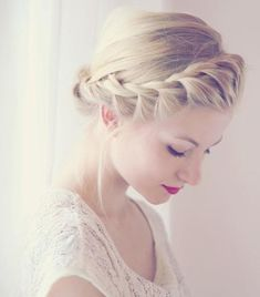 front crown braid