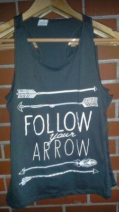 Follow Your Arrow Tank Top