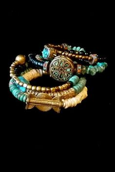 thejoymooscollection | Tribal Bracelet Stackable BRACELET by TheJoyMoosCollection, $120.00