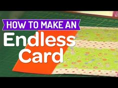 FUN CARD FOLDING TECHNIQUES - 4 different ways to fold handmade cards - special card folds - YouTube