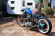 yamaha bobber rear - the royal Chopper Motorcycle, Bobber Chopper, Custom Motorcycles, Custom Bikes, Xs650 Bobber, Motorbike Design, Bike Builder, Orange City, Cafe Racer Build