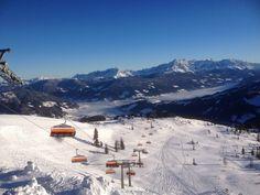 Winterwonderland im snow space Flachau Februar 2015