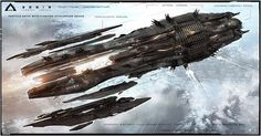 ArtStation - Aegis Command Cruiser concept from Jupiter Ascending, George Hull Star Citizen, Jupiter Ascending, Concept Ships, Concept Art, Starship Concept, Sci Fi Spaceships, Spaceship Design, Alien Spaceship, Sci Fi Ships