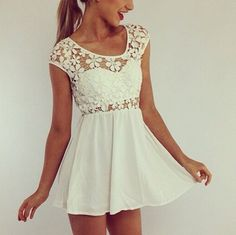 Lace Be a Lady Dress but i'd like it a little longer because it's very short