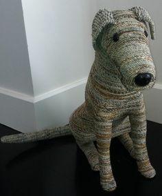 Paper Mache dog...