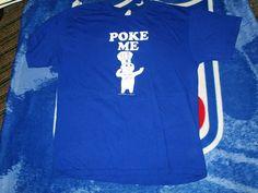 Doughboy Poke Me t shirt large bake cooking #AAA #BasicTee