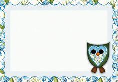 Cute Things: Cards: Owl, printable card / Cartão Coruja, pronto...