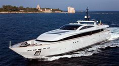 Baglietto's 44m motor yacht Apache II