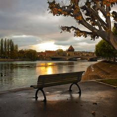 Konstanz lake, Germany.   I spent my Junior Year Abroad here 1981-1982
