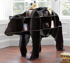 L'ours en étagères... l'art de ranger!