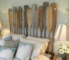 tete de lit alinea , tete de lit a faire soi meme en bois clair