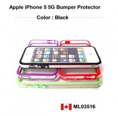 Protect your iPhone 5 with a bumper. We've all heard and seen how delicate the aluminum frame of the iPhone 5 is so why not protect it from scratches & chips with a NEW BUMPER.    Price : $12.25