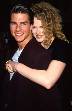 Before Brad & Angelina there was Tom Cruise & Nicole Kidman. This is my favourite shot of them together in the 90's.