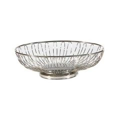 Silver Wire Bread Basket | Linen Effects - Minneapolis, MN | Table top decor rentals