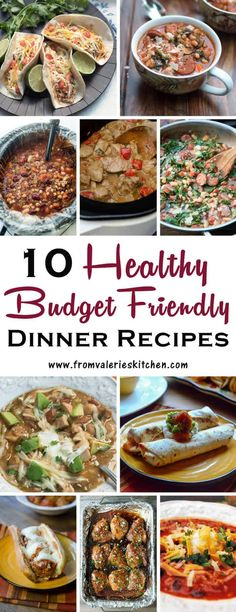 Cheap Healthy Dinner Recipes is Among the Liked Dinner Recipes Of Numerous Persons Around the World. Besides Easy to Produce and Great Taste, This Cheap Healthy Dinner Recipes Also Healthy Indeed. Cheap Healthy Dinners, Healthy Recipes On A Budget, Inexpensive Meals, Cheap Dinners, Cooking On A Budget, Frugal Meals, Budget Meals, Healthy Dinner Recipes, Easy Meals