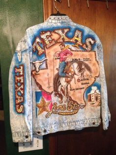 The Tony Alamo of Nashville Texas Womens Denim Jacket Size L