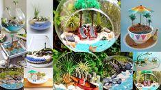 Fairy Gardens, Table Decorations, Diy, Furniture, Ideas, Home Decor, Decoration Home, Bricolage, Room Decor