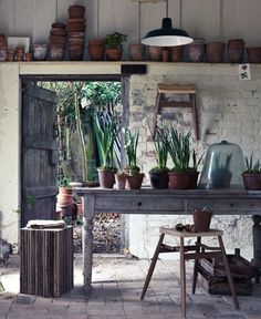 nice potting room