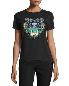 black kenzo t shirt