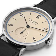 """9886f5c42 relogioserelogios: """"A Nomos Glashütte apresenta um novo modelo Tangente  para comemorar os 100 anos"""