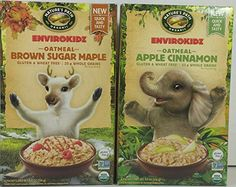 Natures Path Organic Envirokidz Gluten Free Oatmeal Brown Sugar Maple  Apple Cinnamon 2 Pack ** Want additional info? Click on the image. (This is an affiliate link and I receive a commission for the sales)