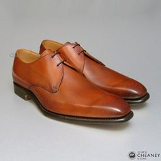2cd852f82009 Cheaney Newman in Hand Burnished Dark Leaf...if only they made them with