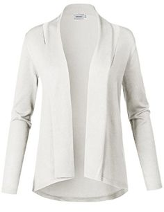 Awesome21 Women s Solid Soft Stretch Long Sleeve Shawl Open Front Knit  Cardigan. sakkura styles · Sweaters e23c80fc2