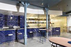 Champagne et jambon à Madrid |MilK decoration