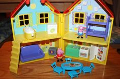 Peppa Pig Toys Perfect for Holiday Giving: Peek N Surprise Playhouse, Picnic Adventure Car, and a George Plush Peppa Pig, Toys For Girls, Girl Toys, 7th Birthday Party Ideas, Sister Room, Adventure Car, Nick Jr, Shopkins, Doll Furniture