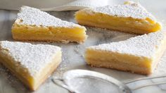 You'll find the ultimate Ina Garten Lemon Bars recipe and even more incredible feasts waiting to be devoured right here on Food Network UK.