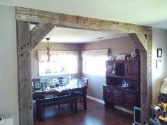 100 year old barn beams