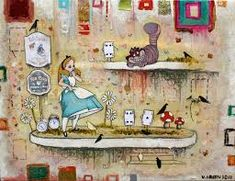 veronica green art - Google Search Green Art, Art Google, Veronica, Alice, Painting, Google Search, Art Ideas, Painting Art, Paintings