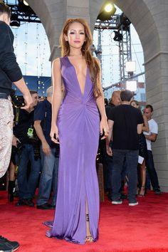 e0758475cf Melanie Iglesias she s soooo funny Versace Gown