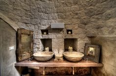 A #bathroom in a #trullo where the time has stood still