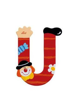 Letter U Clown