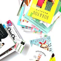 beautifully designed japanese magazines and books (tokyo) #travelcolorfully