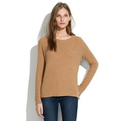 Perfect Textured Sweater - pullovers - Women's SWEATERS - Madewell