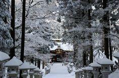 三峰神社 1 ~雪~ : photograph