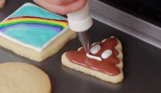 How to Make Emoji Cookies *Insert Dancing Ladies* | Brit + Co