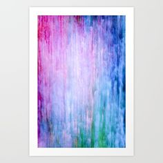 color wash 3 Art Print by Iris Lehnhardt. Worldwide shipping available at Society6.com. Just one of millions of high quality products available.