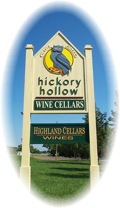 hickory hollow wine cellars Sign