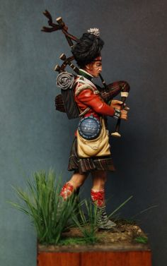 Miniatures, Paint and History Piper Kenneth Mckay