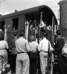 Départ pour le Tyrol Avril 1946
